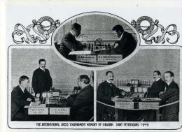 CHESS Tournament  Of Chigorin Memory Saint Petersburg 1909 - Scacchi