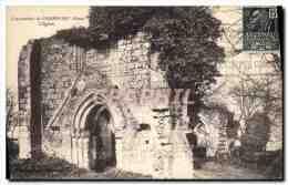 CPA Catacombes De Champlieu Oise L'Eglise - France
