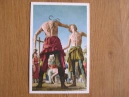 Le Peuple Belge Chromo N° 148 Les Flagellants Huens Nos Gloires Moyen Age Histoire Chromos Trading Card - Artis Historia