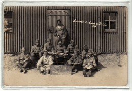 CAMP DE BITCHE - 120 EME REGIMENT D ARTILLERIE LOURDE - 1928 - POUR FRESSE SUR MOSELLE - CARTE PHOTO MILITAIRE - Régiments