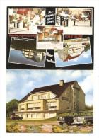 Carte Publicitaire Allemagne BAD SEGEBERG Motel B 404 Carte Double - Bad Segeberg