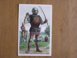 Le Peuple Belge Chromo N° 170 Soldats Bourguignons Nos Gloires Moyen Age Histoire Chromos Trading Card - Artis Historia