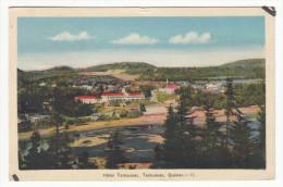 Hotel Tadoussac Québec P.Q. Canada - Stamp & Postmark 1945 - 2 Scans - Quebec