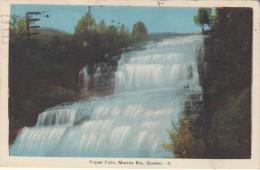 Fraser Falls Murray Bay - Québec P.Q. Canada - Stamp & Postmark 1946 - 2 Scans - Quebec