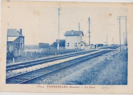 FAVEROLLES La Gare - Francia
