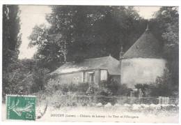 CPA DOUCHY LOIRET CHATEAU DE LAUNAY LA TOUR DE L ORANGERIE - Otros Municipios