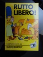 Simpson DVD Carte Postale - Advertising