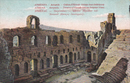 Grecia--Acropolis--Interior-Theatre Of Herode Atticus - Grecia