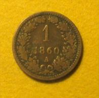 1 Heller 1860 - Autriche