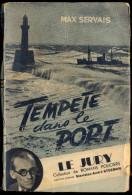 """Collection """"Le Jury"""" - Tempête Dans Le Port - Max Servais. - Livres, BD, Revues"""