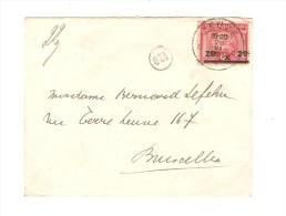 TP 185 Jeux Olympiques C.Leuze En 1921 V.Bruxelles PR2657 - Summer 1920: Antwerp