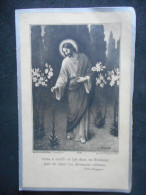 "Image Pieuse Double ""A La Mémoire"" De Elzida NICOLAS -1933- Basse-Terre (avec Photo) - Religione & Esoterismo"