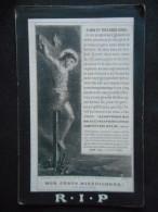 """Image """"POUR LE REPOS DE L'AME"""" De Pauline LIENART En Religion Soeur De Louise -TURIN 1879 - Religion & Esotericism"""