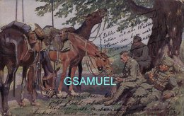 Guerre 1914-18 - Treue Freunde - (Cachet - Marcophilie). - (voir Scan). - War 1914-18
