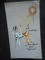 Image COMMUNION - Rhodoïd - Claire TAYLOR -Pensionnat Jeanne D'Arc -1964- (Bouasse Jeune) - Religion & Esotericism