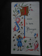 """Image COMMUNION -enluminure- Jean-Marie SAINTRY -1972- """"Je Suis Le Bon Berger"""" - Religion & Esotérisme"""