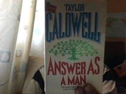 Answer As A Man [Broché] [Jan 01, 1984] Taylor Caldwell - Livres, BD, Revues