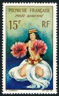 POLYNESIE 1964 - Yv. PA 7 ** TB  Cote= 5,60 EUR - Danseuse Tahitienne ..Réf.POL22783 - Poste Aérienne