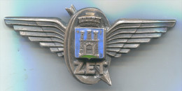 ZET - Tram, Strassenbahn, Urban Transport, Zagreb, Croatia, Enamel, Vintage Pin, Big Badge, Insignia, Dim. 85x40mm - Transportation