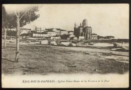 83 Var Saint Raphael ELG 0112 Eglise Notre Dame De La Victoire Et Le Port - Saint-Raphaël