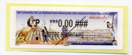 2015 LISA 2 88ème CONGRÈS FFAP MÂÇON - 2010-... Illustrated Franking Labels