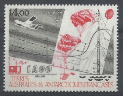 French Antarctic (FSAT), Scientific Research In The FSAT, 1986, MNH VF  Airmail - Airmail