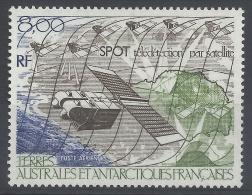 "French Antarctic (FSAT), ""SPOT"", Satellite, 1986, MNH VF  Airmail - Airmail"