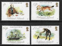 Falkland Islands SG1127-1130 2009 Darwin Set 4v Complete Unmounted Mint [4/4008/4D] - Falkland