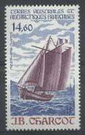 """French Antarctic (FSAT), Sailing Ship """"JB Charcot"""", 1987, MNH VF  Airmail - Airmail"""