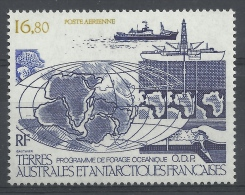 """French Antarctic (FSAT), Oceanic Drilling """"ODP"""", 1987, MNH VF  Airmail - Airmail"""