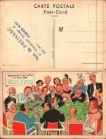 Illustrateur JEAN DE PREISSAC - Casino Jeux De Cartes, Avec Cachet De L'illustrateur - Preissac