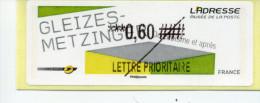 LISA 2 / GLEIZES-METZINGER 2012 - 2010-... Vignettes Illustrées