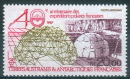 French Antarctic (FSAT), French Polar Expedotions, 1988, MNH VF  Airmail - Airmail
