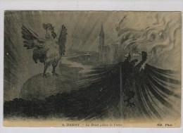 A. Daisay: Le Droit Prime La Force [le Coq Contre  L'aigle] - Patriotiques