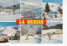 LA BRESSE (88-Vosges) Le Slalom, Col Du Brabant, Basse Des Feignes, Ski De Fond, Le Lispach, Dameuse, Téleski, Ed. Mage - France