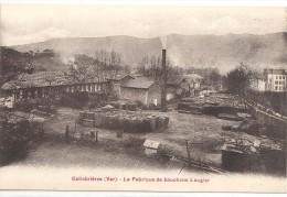C P A   -  COLLOBRIERES  La  Fabrique  De  Bouchons  Laugier - Collobrieres