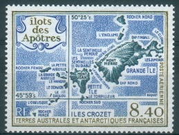 French Antarctic (FSAT), Apostle Islets, Crozet, 1989, MNH VF  Airmail - Airmail