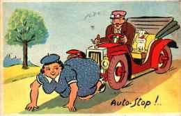 Illustrateur JEAN DE PREISSAC - Auto-stop - Preissac