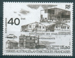 French Antarctic (FSAT), Permanent Settlements, 1989, MNH VF  Airmail - Airmail