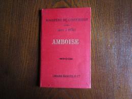 Carte à 1/100 000 D'Amboise-librairie Hachette - Cartes Topographiques