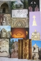 14 CART.  EURA PORTUGAL - Cartoline