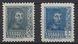 España NE 58/59 **/* Fernando 1938. No Expedido. Foto Exacta - 1931-Hoy: 2ª República - ... Juan Carlos I