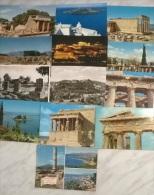 13 CART.  GRECIA - Cartoline