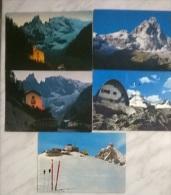 5 CART.  VALLE D'AOSTA - Cartoline