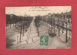 * CPA..dépt 59..LILLE  : La Place De Tourcoing..n°157..Scan B  : Voir Les 2 Scans - Lille