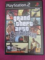 CD JEU VIDEO ELECTRONIQUE  PLAYSTATION 2 Grand Theft Auto: San Andreas Jeu Vidéo Grand Theft Auto: PLAY STATION 2  SONY - Sony PlayStation