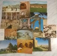 14 CART.  JERUSALEM - Cartoline
