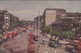 Indien - Bombay - Bhendy Bazar - Street - Cars - 2x Stamps - Indien