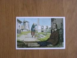 Le Peuple Belge Chromo N° 274 Misère Et Famine Nos Gloires Histoire Chromos Trading Card - Artis Historia