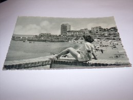 Egypte.Alexandrie.Alexandria.Stanley Bay Beach.Pin Up.Sabena Au Dos.(2 Scans). - Alexandrie